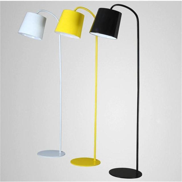 Einfache Stehleuchte Bunte Eisen Körper Kreativen Lampen Für Wohnzimmer  Schlafzimmer Dekoration Leuchten