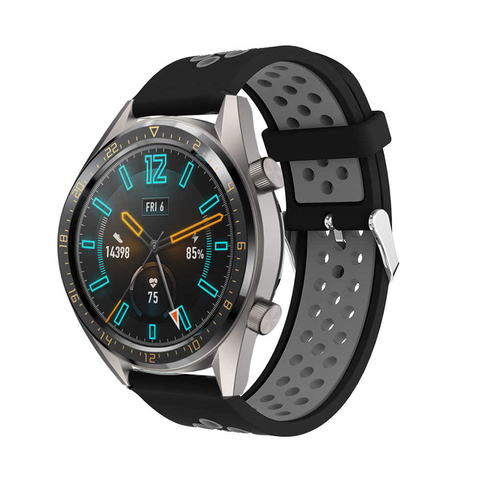 Für GT2 Strap Silikon Armband für Huawei Uhr GT 2 GT 46mm /GT 2e /HONOR Magie Band sport Armband 22MM Armband Correa