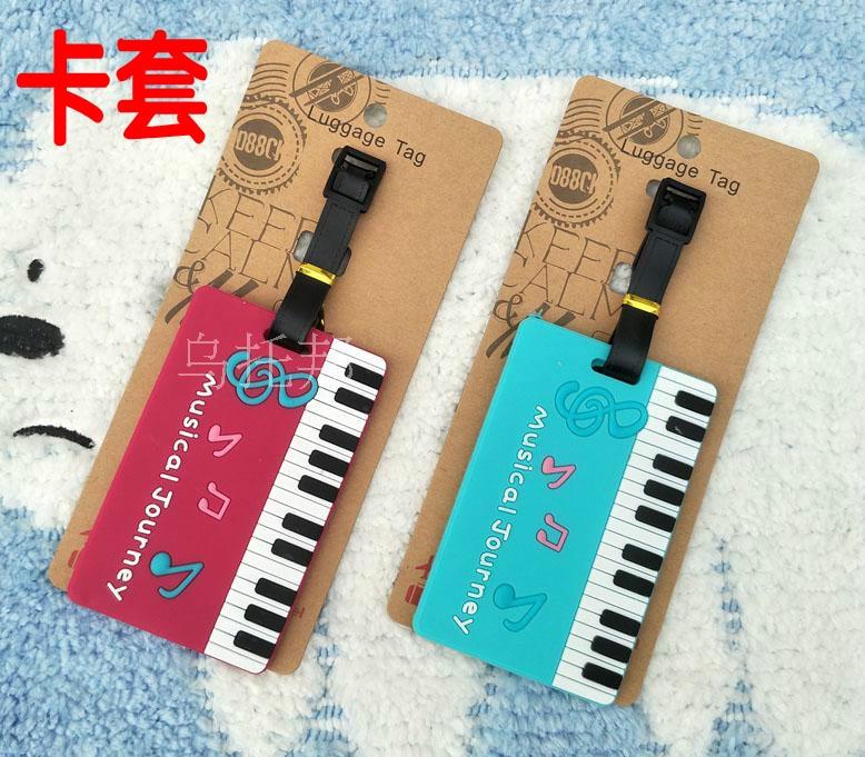 2018 Sale Travel Bag Maletas Student Bus Card N Piano Music Notation Luggage Tag Set Entrance Guard Kaka Bag Identification Ne