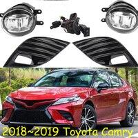 Camry fog light,LED,2018 2019,camry bumper Fog Lamp Driving Light Harness Kit for Camry SE/XSE Hibrid SE/XLE,auris,altis
