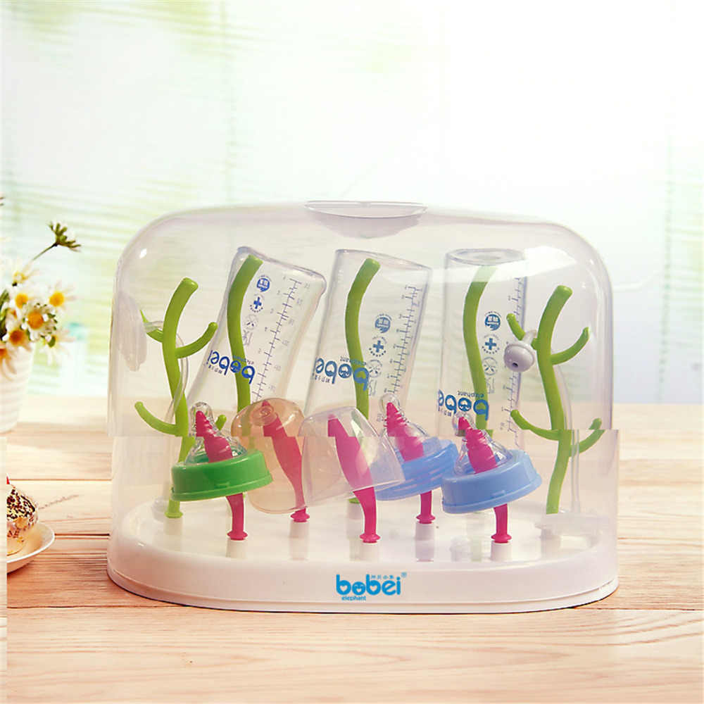 Drying Racks baby bottles dryer drainer feeding drainer baby tableware storage laundry holder cup lid dry Heat kids resistance