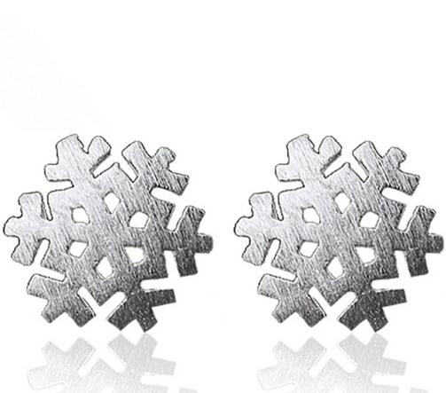 7 Styles of Silver Angel Wing Earrings Studs