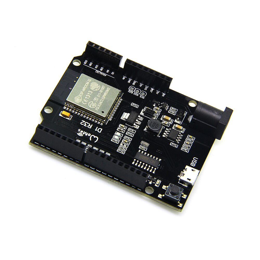 TTgo ESP32 rev1 WiFi & Bluetooth 4MB Flash UNO D1 R32