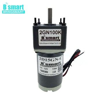 2D15GN-24 12 Volt DC Gear Motor 24V DC Electric Motor Speed Regulation Reversible Motor Slow Speed Motor