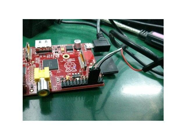 Raspberry pi Debugging Data Line RPI Pie PL2303HX Raspbian General USB Serial Port TTLCable RC toy DIY KIT Development board