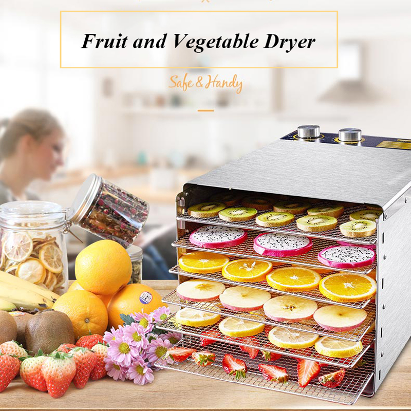 Food and Fruit Dryer Dehydrator for Fruits and Vegetables Electric Drier for Vegetables Drying for Fish Fruit Dehydrator Machine multi function hand shredder for fruits and vegetables