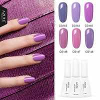 Azure Beauty nouvelle série automne hiver Gel à ongles longue durée couleur pourpre Gel UV pour manucure à ongles Design vernis à ongles
