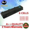 Nova 6 células bateria do laptop c55 satélite pa5110u-1brs pa5109u-1brs pa5108u-1brs para toshiba c40 c45 c50 c70 c75 series