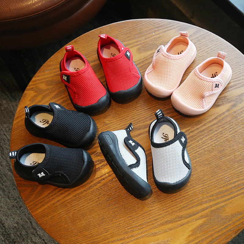 Baby Shoes Easy-To-Wear Non-Slip Girls Autumn Boys And Soft-Bottom 1-5-Years-Old Children's