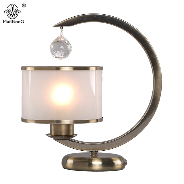 Modern Crystal Table Lamps for Bedroom Luxury Crystal Glass Table ...