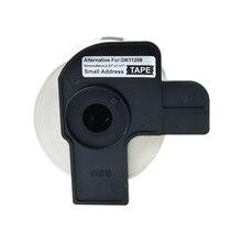 1 рулон этикетки лента DK-11209 этикетка 62 мм x 29 мм 800 страниц/roall непрерывная Совместимость для Brother QL-710W/800/810 W/820NWB/1050/1060N