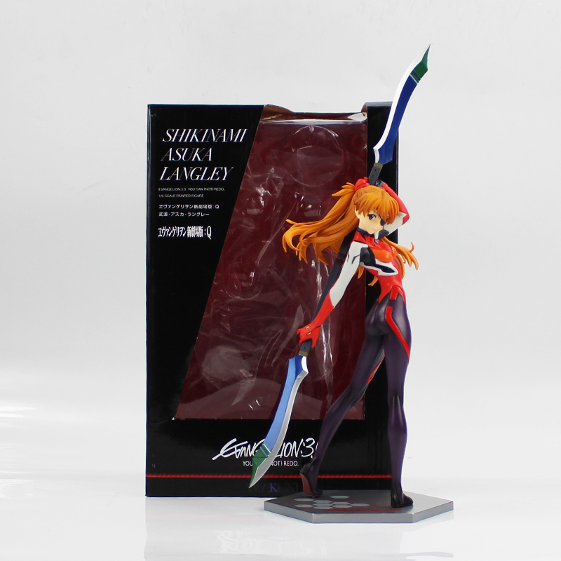 26cm EVA Asuka Langley Soryu Action Figure Model Toy Hot Anime NEON GENESIS EVANGELION PVC Figure Model Toy cool gift for gifts anime eva neon genesis evangelion action figure ayanami rei pvc figure models toy figures gifts 19cm free shipping