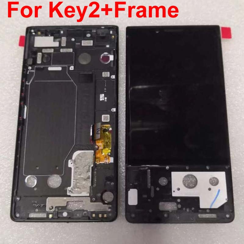 New Tested For BlackBerry Key2 LCD Display with Touch Screen Digitizer Assembly for blackberry Keytwo BlackBerry