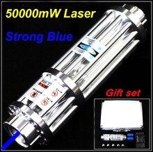 [RedStar] XY-017 High power 50000 mW 10000 mW Blauen laser-pointer starke laserlicht cigarrete schlag solder Laser kanone laserpistole