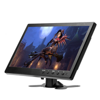 10.1 inch 1920*1200 LCD HD Monitor Mini Computer Display LED Screen 2 Channel Video Input Security Monitor With Speaker VGA HDMI