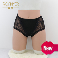 Roanyer crossdressing silicone artificial penetrable fake vagina Underwear hip pant transgender Shemale Drag Queen crossdresser