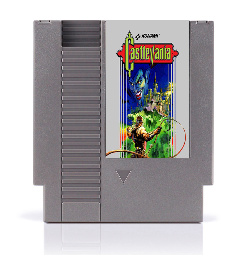 Castlevania Top quality 8 Bit Game Card for 72 Pins Game Players image