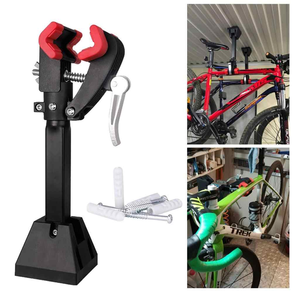 Bike Wall-Mount Heavy Duty Bicycle Repair Rack Stand Maintenance Folding Clamp