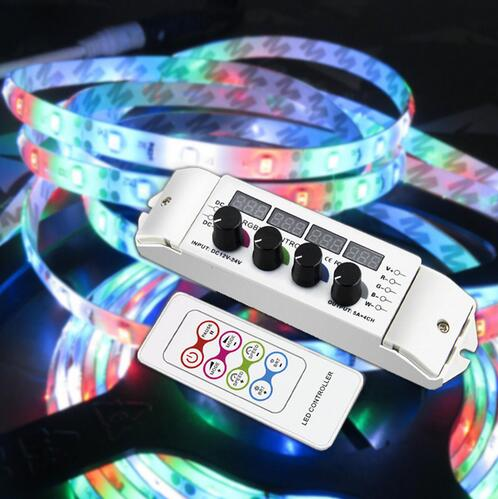DC12V-24V Knob RGBW controller with RF wireless Remote RGB Controller multi function light display controller 5A/CH*4 RGBW sonex 2146 page 4