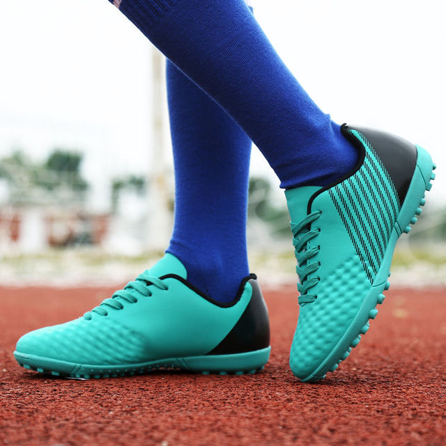 d770678a07 ... Soccer Shoes Kids Chuteira Futebol Original Profissional Sneaker  new  release Ihambing Ang Pinakabagong ZHENZU Soccer Shoes Indoor Superfly  Breathable ...