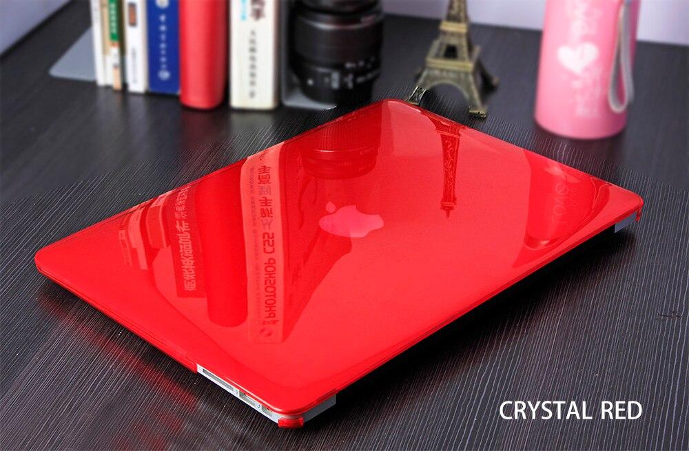 JUNWER CrystalMatte Transparent Case For Apple Macbook Air Pro Retina 11 12 13.3 15 For Macbook Air 13 A1932 Laptop Case Cover 13