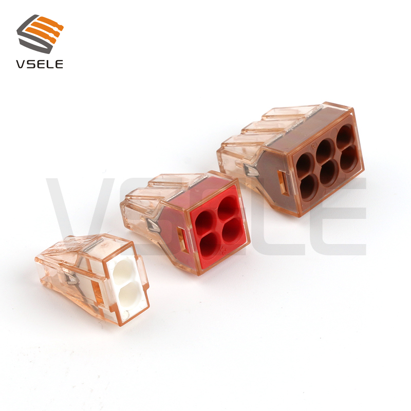 10Pcs Wago push in wire connector wiring connector electrical quick disconnect connectors wire connector kit10Pcs Wago push in wire connector wiring connector electrical quick disconnect connectors wire connector kit