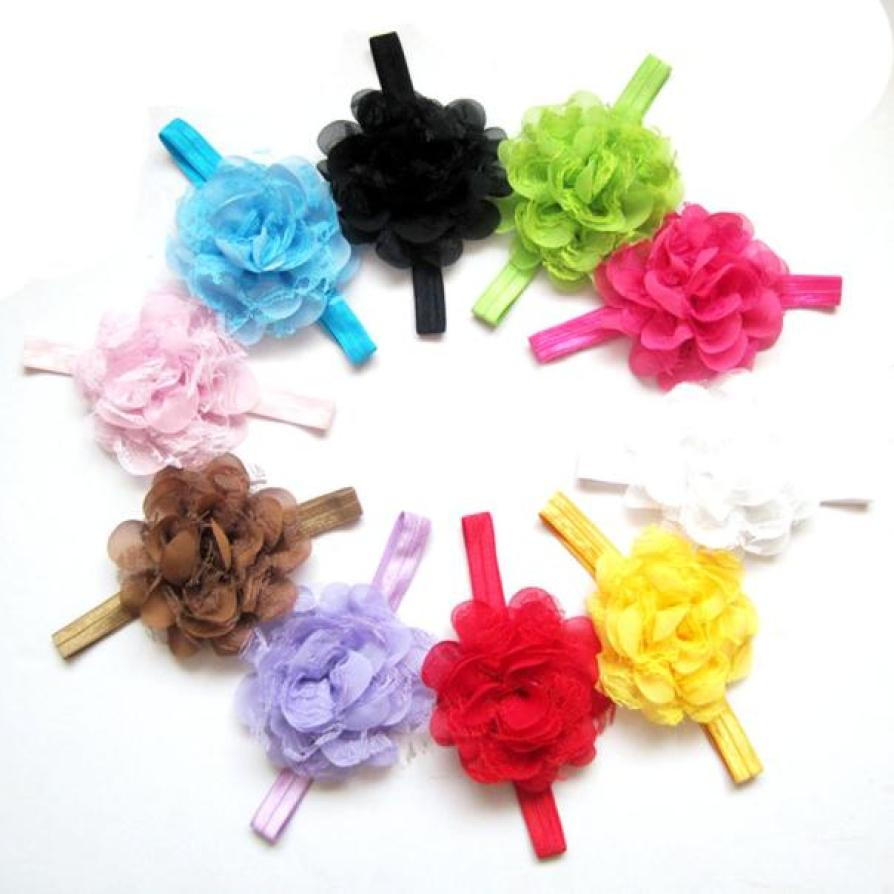 BMF TELOTUNY Fashion 10PCS Lace Flower Kids Baby Girl Toddler Headband Hair Band Headwea ...