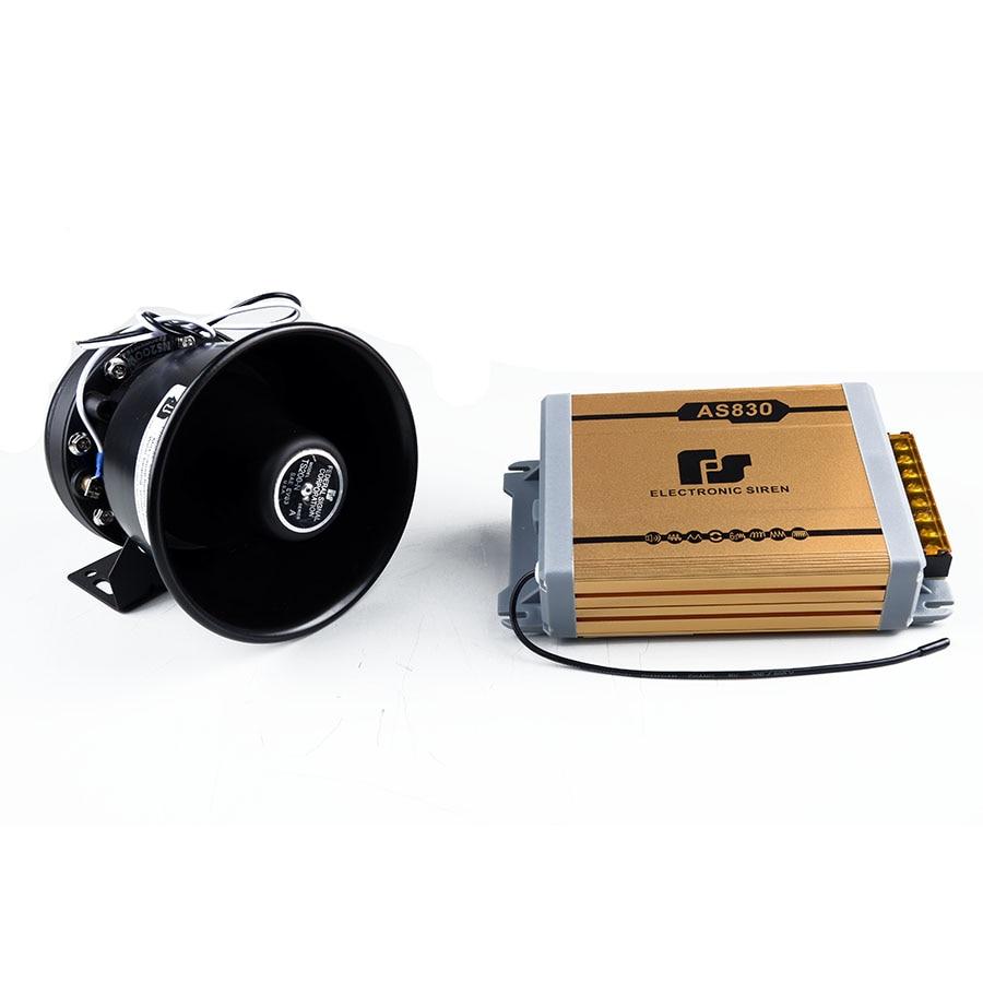 ФОТО 11 Tone Electronic Horn 200W Car Alarm Siren Wireless Remote Loudspeaker Horn Police Siren Megaphone Car Styling Auto Buzzer