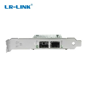 Image 2 - LR LINK 9802bf 2sfp + 10 gb 이더넷 네트워크 카드 pci e 듀얼 포트 광섬유 서버 어댑터 intel 82599 compatibl X520 SR2/da2