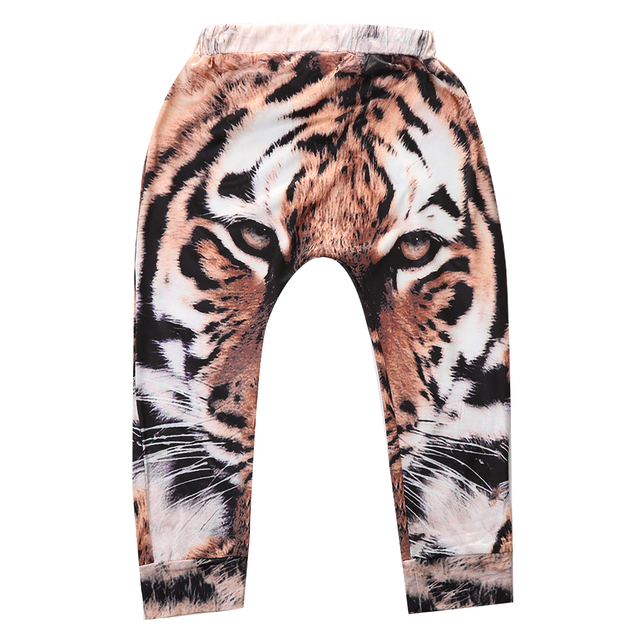 b359f99fd259 Baby Boy Girls Baggy Harem Pants Toddler Kids SweatPants Joggers Elastic  Bottom Elastic Trousers 0-