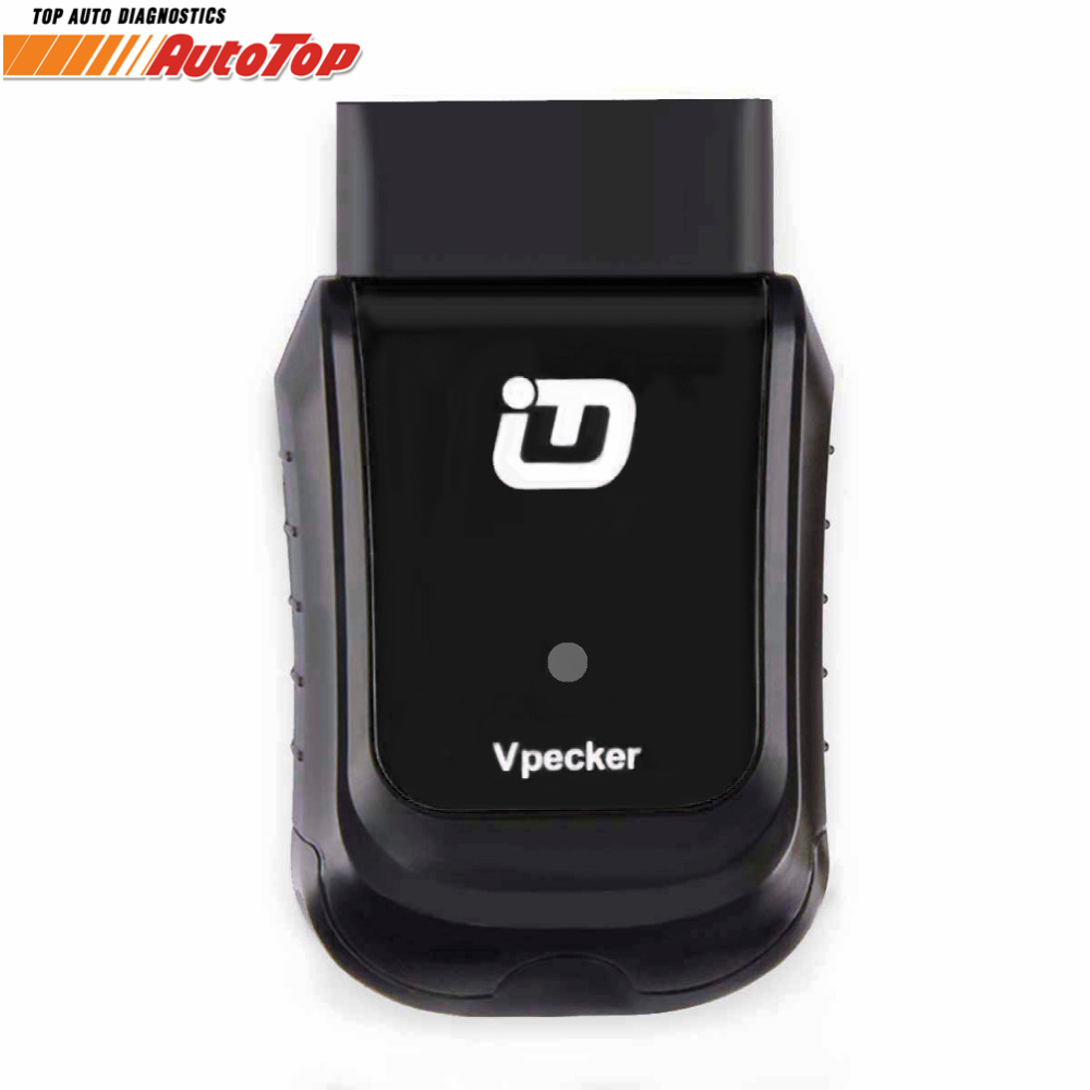купить Newest V10.6 Vpecker WIFI OBD2 Auto Car Diagnostic Tool Adapter All Systems Automotive Scanner for all cars Update Free Vpecker по цене 8338.59 рублей