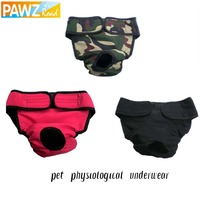 Free Shipping Pet Dog Menstruation Underwear New Female Pet Cute Pant Short Diaper 3 Colors