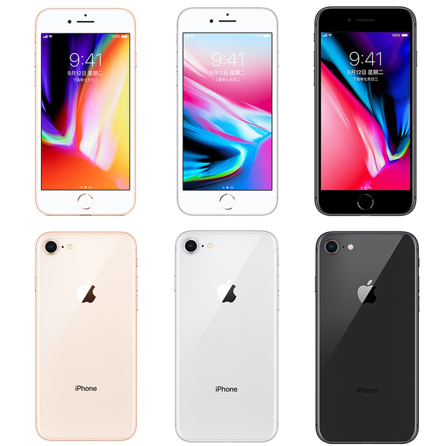 "Original Apple iPhone 8 1821mAh 2GB RAM 64GB/256GB LTE 12.0MP Camera 4.7"" inch Apple Fingerprint Hexa-core  IOS 3D Touch ID 3"