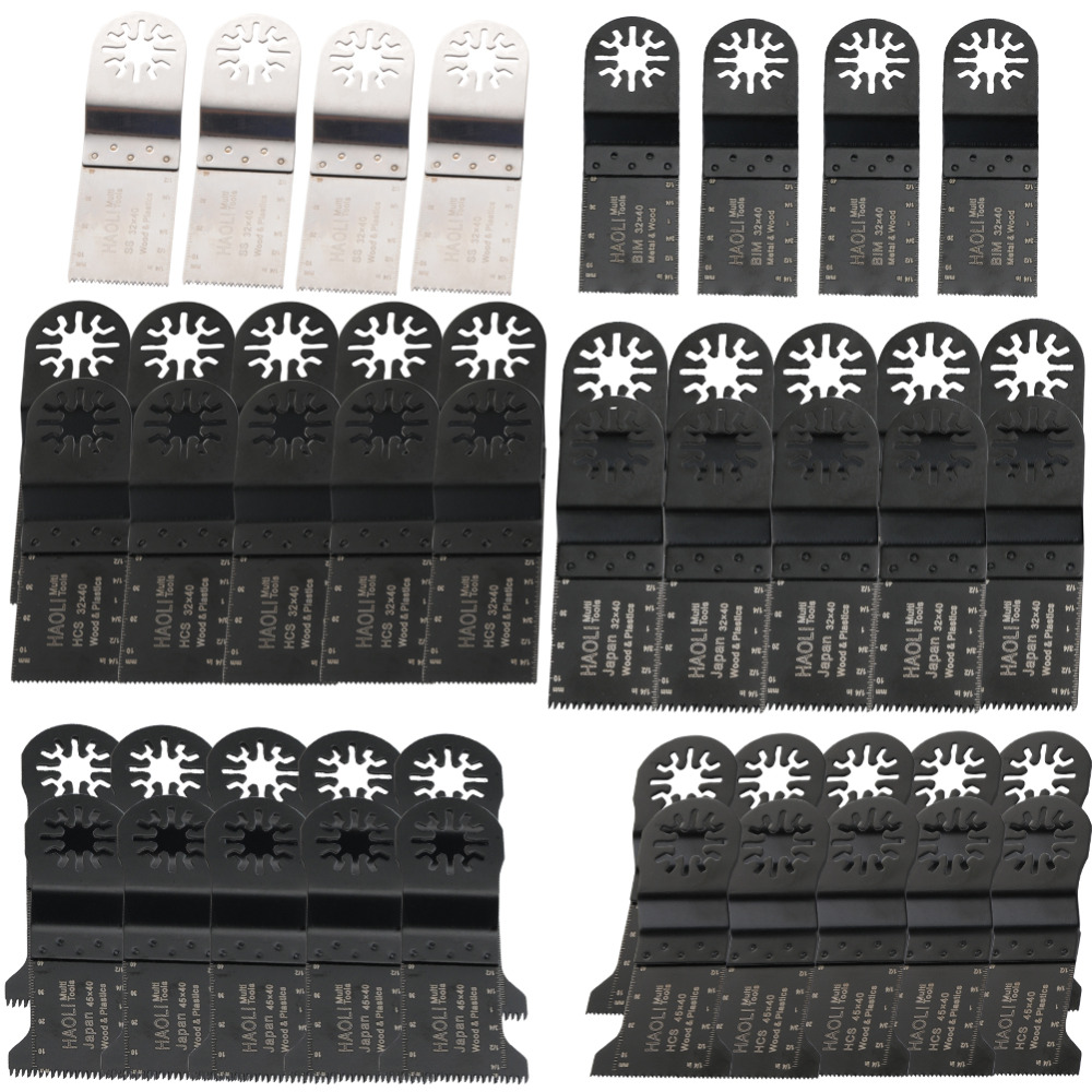 цена на 48 pcs oscillating tool saw blades for multimaster power tool for home decoration,for Fein renovator tool,Dremel,TCH,top quality