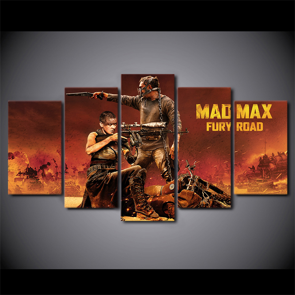 Mad Max Fury Road Canvas Art Print