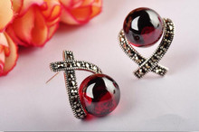 Rosso sterling silver Earrings