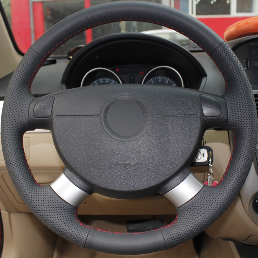 Steering Wheel Cover for Chevrolet Lova Aveo Buick Excelle Daewoo Gentra 2013-2015 Chevrolet Lacetti 2006-2012