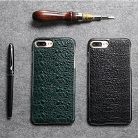 Luxury Crocodile Pattern Genuine Leather Case For iphone 7 Plus Cover Hard Ultra thin Leather Cover For iphone7 Plus Phone Cases