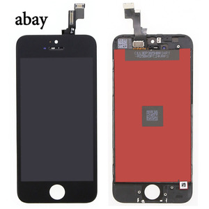 Image 3 - Voor Iphone 5 5s Lcd scherm Voor Iphone 5 5s Touch Screen Digitizer Vergadering Vervanging Lcd 5S A1457 A1528 a1518 Touch Panel
