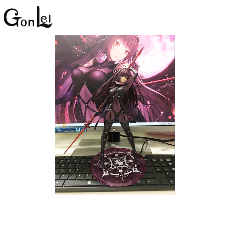 GonLeI Anime Plum Fate/Grand Order Lancer PVC Action Figure Collectible Model doll toy 31cm neca marvel legends venom pvc action figure collectible model toy 7 18cm kt3137