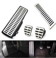 Stainless Car Accelerator Gas Brake pedal Clutch Pedal For VW Volkswagen Jetta MK5 Golf 5 6 Scirocco Tiguan Skoda Octavia