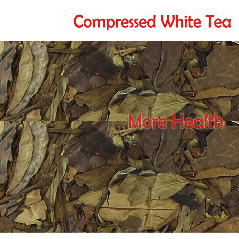 New Arrival Organic Compressed tea,  350g  Mountain Wild White tea Eco Green Food Long life anti-deasy Healthy Tea