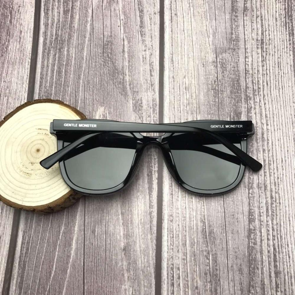Image 2 - 2019 Brand New Korea Design Women Gentle Monster Sunglasses Fashion Cat Eye Sunglass Men Vintage Sun glasses Retro oculos de sol-in Women's Sunglasses from Apparel Accessories