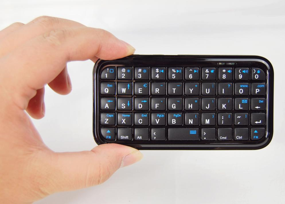 Pocket <font><b>Mini</b></font> bluetooth <font><b>keyboard</b></font> for iphone <font><b>4</b></font> /4s/5 /<font><b>IPAD</b></font> 2 3 <font><b>4</b></font> AIR android system / samsung/SONY PS4 FREE SHIPPING image