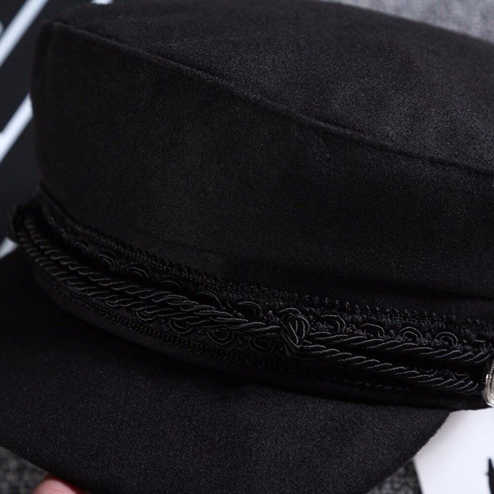 Новинка, модная черная кружевная шапка с вышивкой, кепка, кепка, повседневный веревочный головной убор, женская кепка Newsboy, солнцезащитные шляпы, Осень-зима, крутой берет для девочек