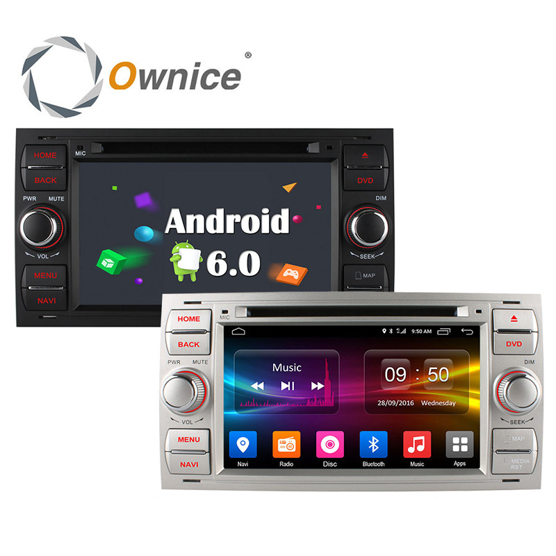 8 Android 6 0 Car DVD Player GPS Radio for Ford Tourneo Transit Connect 2013 17