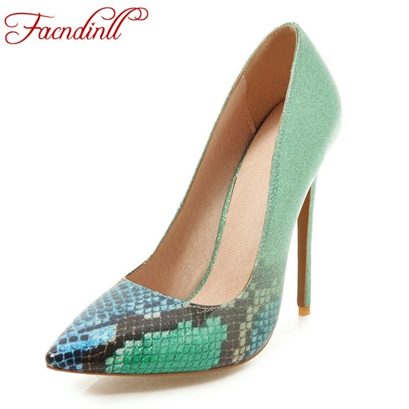 Fashion women pointed toe platform extreme high heel shoes snake sexy pumps nightclub evening party purple black shoes plus size weiqiaona european 2018 women new fashion show leather snake skin rhinestone flowers high heel sandalss sexy ladies party shoes