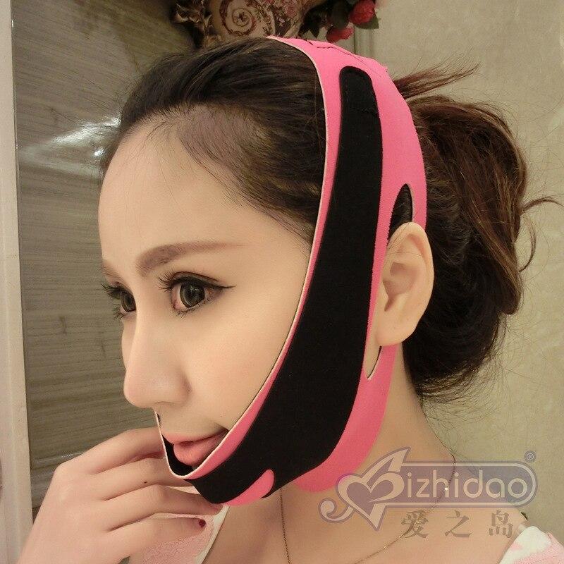 Face V Shaper 3D maska na hubnutí relaxace Face Lift Up Belt - Ústní hygiena