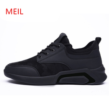 Winter Mens Sneakers Casual Breathable Shoes Man for Men New Leisure Velvet Warm Lace Up Cotton 2019