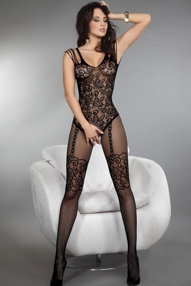 Open Crotch Sexy Lingerie Women Erotic Lingerie <font><b>Hot</b></font> <font><b>Sex</b></font> Products Sexy Costumes Black Underwear Slips Intimates <font><b>Dress</b></font> Bodysocks image
